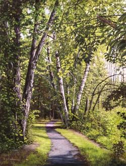 Leggett Road Rail Trail