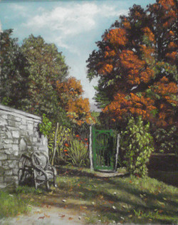 Olana's Garden Gate