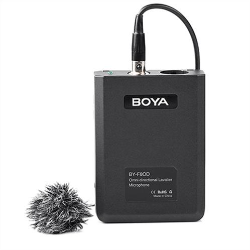 Boya Professional Lavalier Microphone BY-F8OD Omni-Directional