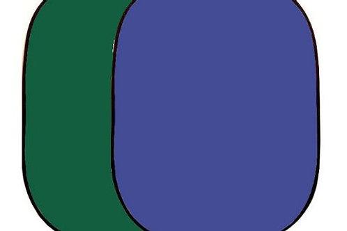 Linkstar Background Board R-1482GB Green/Blue 148x200 cm