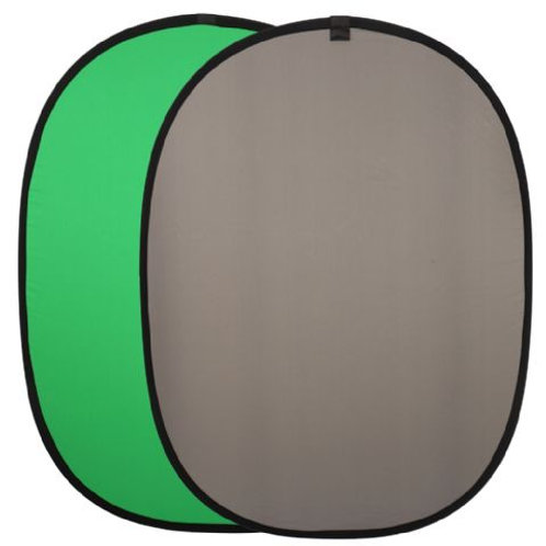 Linkstar Background Board R-1482GG Green/Grey 148x200 cm