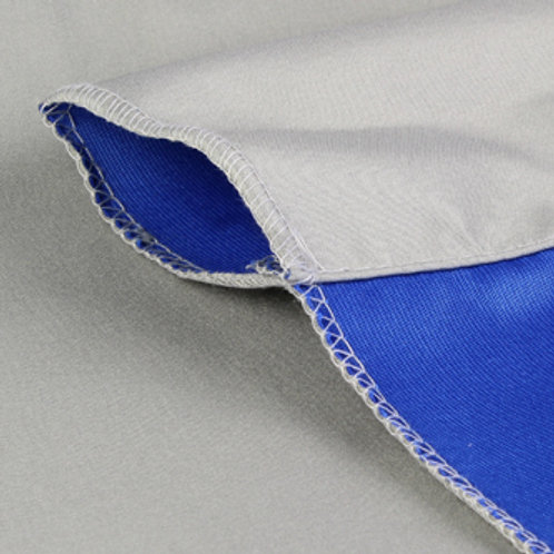 StudioKing Background Cloth 2,7x5 m Blue/Grey