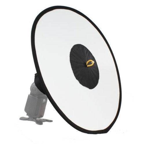 StudioKing Foldable Speedlite Beauty Dish 45 cm