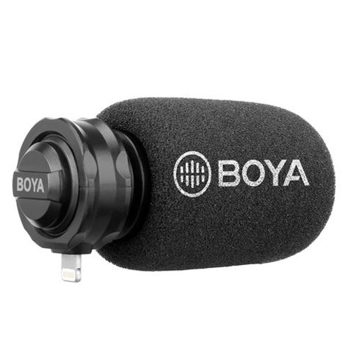 Boya Digital Shotgun Microphone BY-DM200 for iOS