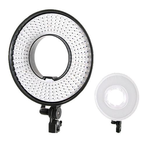 Falcon Eyes Bi-Color LED Ring Lamp Dimmable DVR-300DVC on 230V