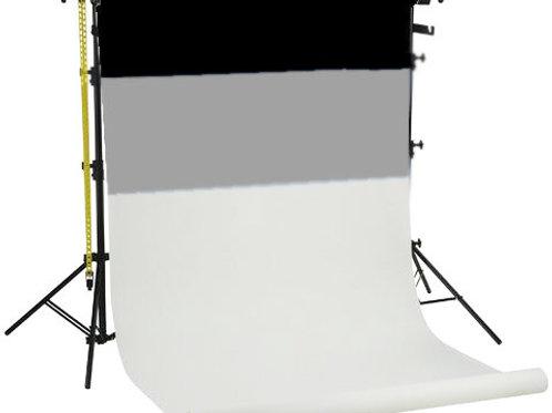 Linkstar Background System BSK-3P + 3 Paper Backgrounds