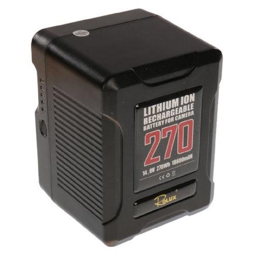 Rolux Smart V-Mount Battery YC-270S 270Wh 14.8V18600mAh