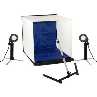 Linkstar Photo Box Kit PBK-50 50x50 cm Foldable + 2x50W lamps