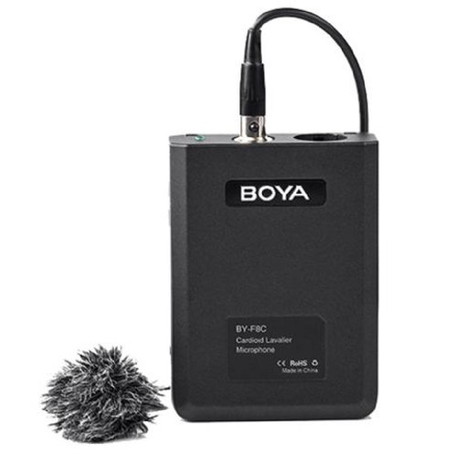 Boya Cardioid Lavalier Microphone BY- F8C for Video or Instruments