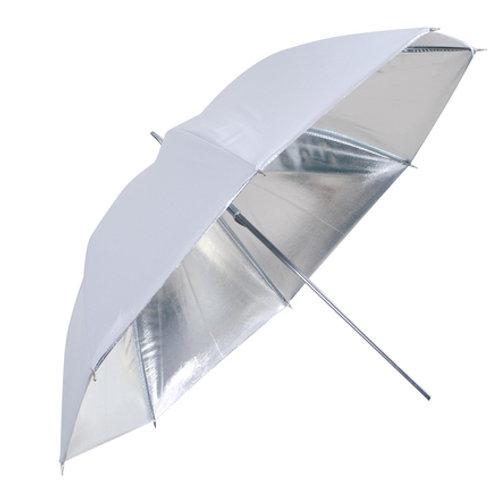 Linkstar Umbrella PUR-102CH Silver/White 120 cm