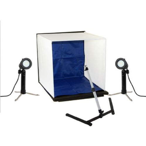Falcon Eyes Foldable Photo Box PBK-40AB-2LS 40x40 cm + 2 Lamps