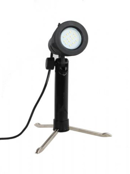 Falcon Eyes Lamp Holder with 4W LED Lamp and Stand
