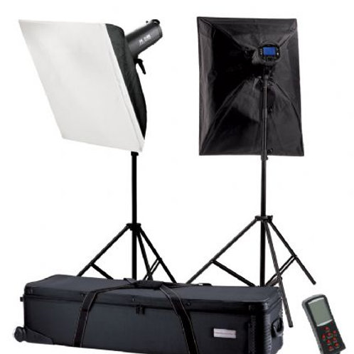Falcon Eyes Studio Flash Set TFK-21200L with LCD Display