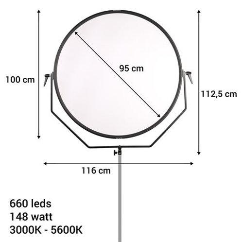 Falcon Eyes Bi-Color LED Lamp Sophiez SO-148TDX on 230V