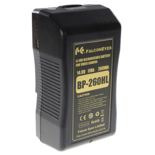 Falcon Eyes V-Mount Battery 260Wh 14.8V 17500mAh