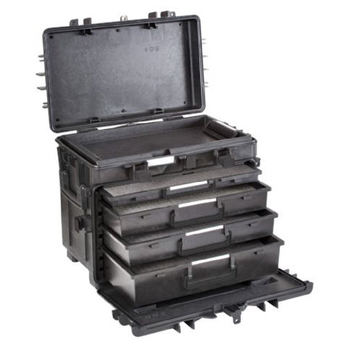 Explorer Cases 5140 Trolley Black with Foam Drawers