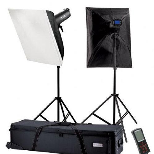Falcon Eyes Studio Flash Set TFK-2600L with LCD Display