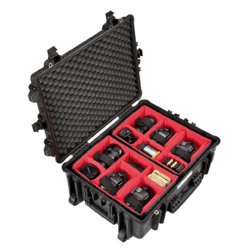Explorer Cases 5823 Case Black with Divider Set