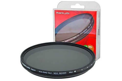 Marumi Grey Variable Filter DHG ND2-ND400 58 mm
