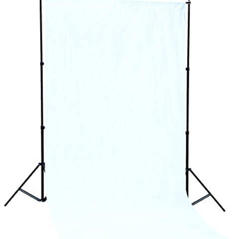 Linkstar Background System BSK-2830W + White Cloth
