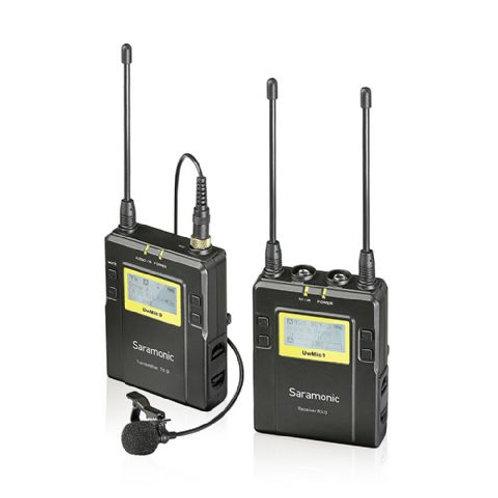 Saramonic Lavalier Microphone Set UwMic9 TX9 + RX9 UHF Wireless