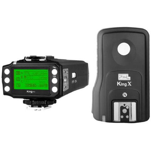 Pixel i-TTL Radio Trigger Set King Pro for Nikon
