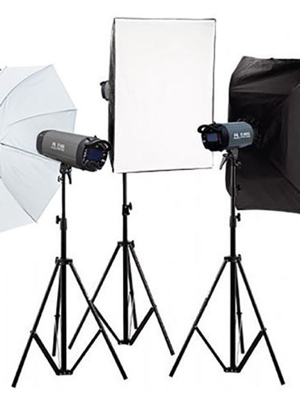 Falcon Eyes Studio Flash Set TFK-3400L with LCD Display
