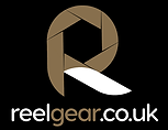 Reel Gear logo (Gold & White).png