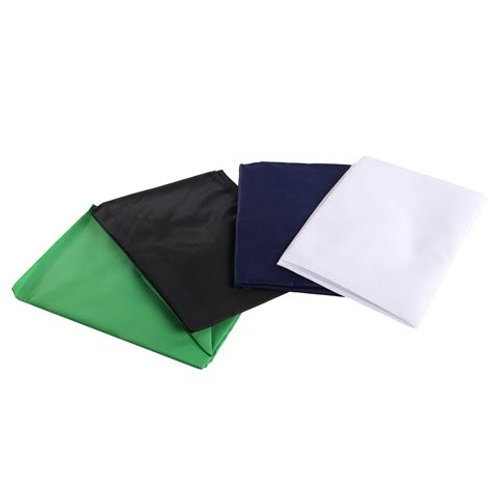 StudioKing 4 Background Cloths for Photo Tent 75 cm