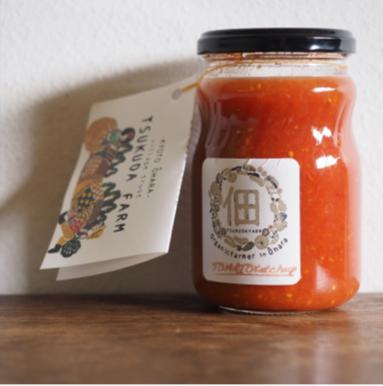 有機トマトのケチャップ