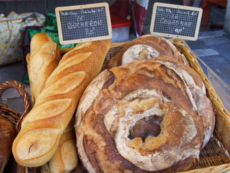 França – Sete países, sete pães