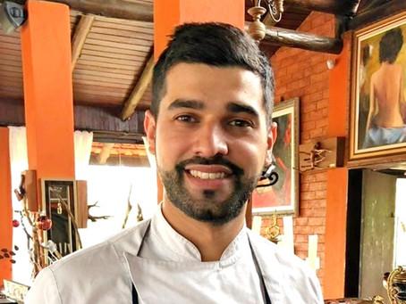 Cappon magro, uma receita típica da Liguria, feita por um chef desta região