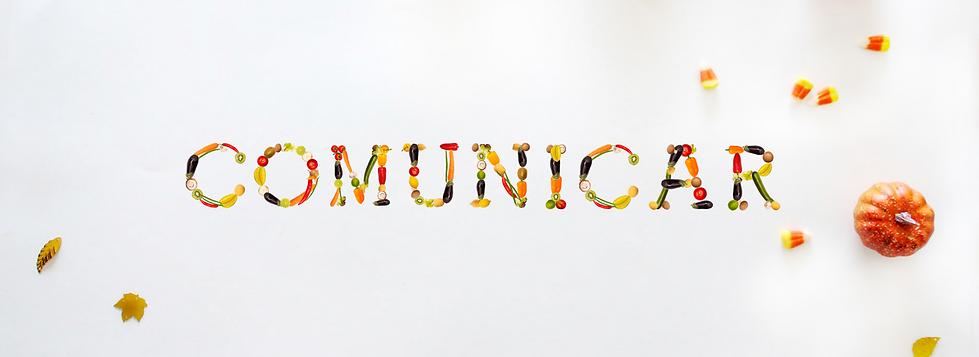 COMUNICAR com letras de comida_fundo dif