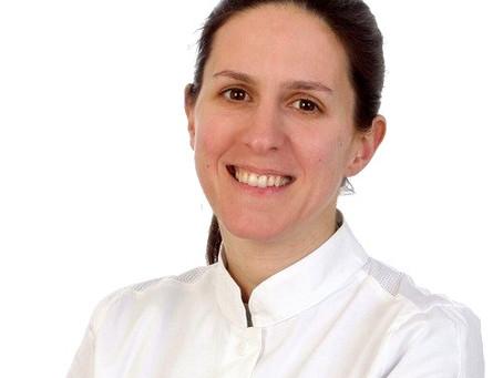 Uma torta de fava e pecorino da chef Barbara Settembri, da região de Marche