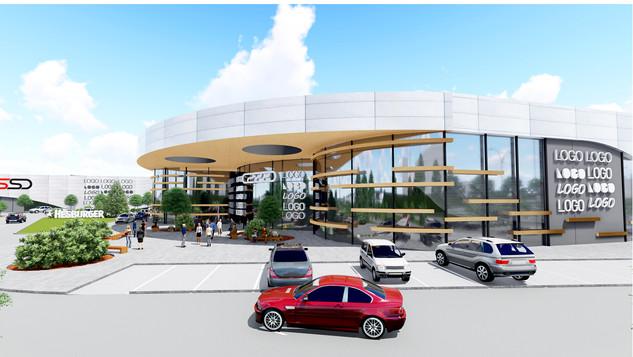 OZOLS - modernus prekybos centras Latvijoje