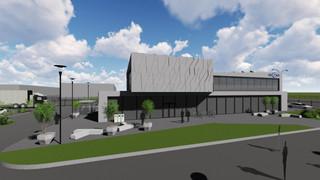 ŠIAULIŲ REGITRA - naujo pastato koncepcija
