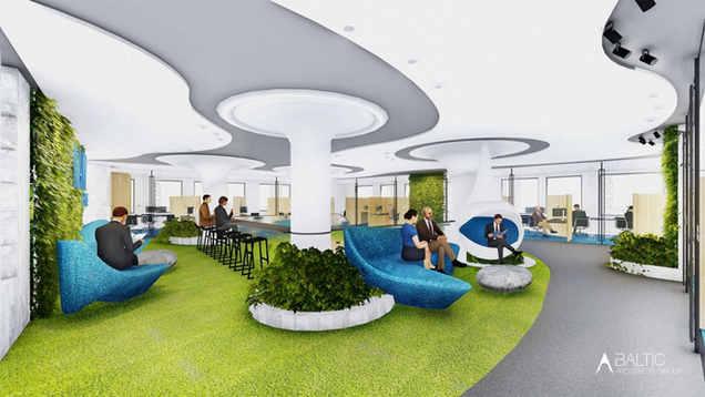 ADVOKATŲ KONTOROS INTERJERAS | Naujas biuras Vilniuje