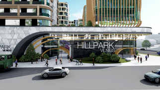 HILL PARK | Multifunkcinis kvartalas Vilniuje
