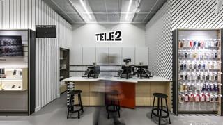 TELE 2 salono interjeras