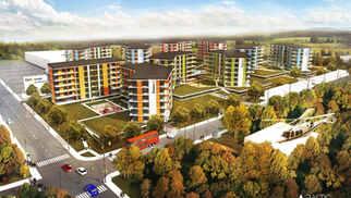 ŽVĖRYNO NAMAI | Daugiabučių namų kvartalas Vilniuje