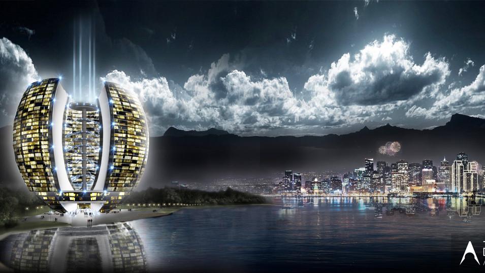 LAISVĖS BURĖS - dangoraižio projektas