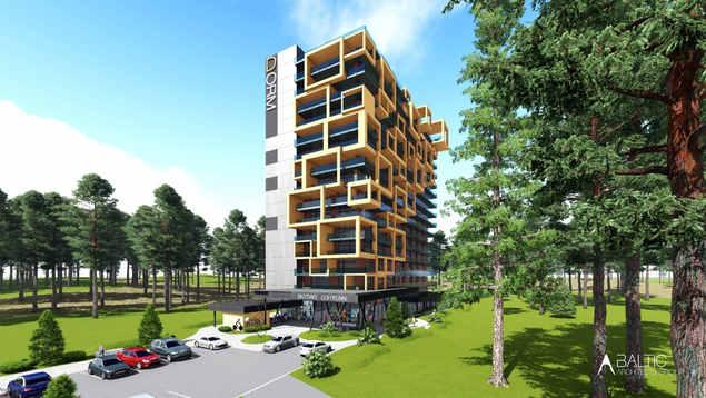 NAUJASIS SAULĖTEKIS | Jaunimo apartamentai Vilniuje