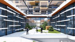 GREEN SQUARE - biurai ir apartamentai Vilniuje