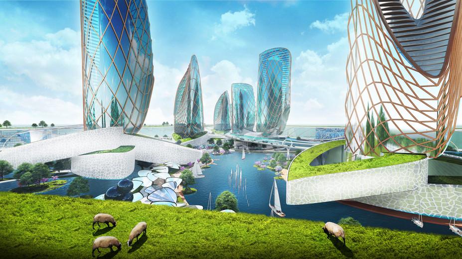 Idėja Lietuvai - NEW KAUNAS - Future City of Lithuania | Lietuvos ateities miestas | Architektūros p