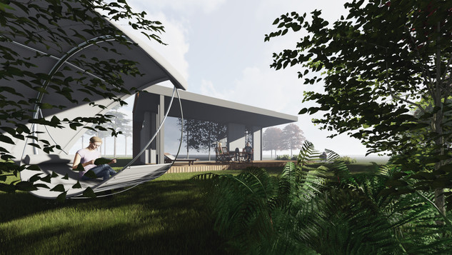 Antakalnio Vila - unikalaus dizaino namo projektas Vilniuje Antakalnyje