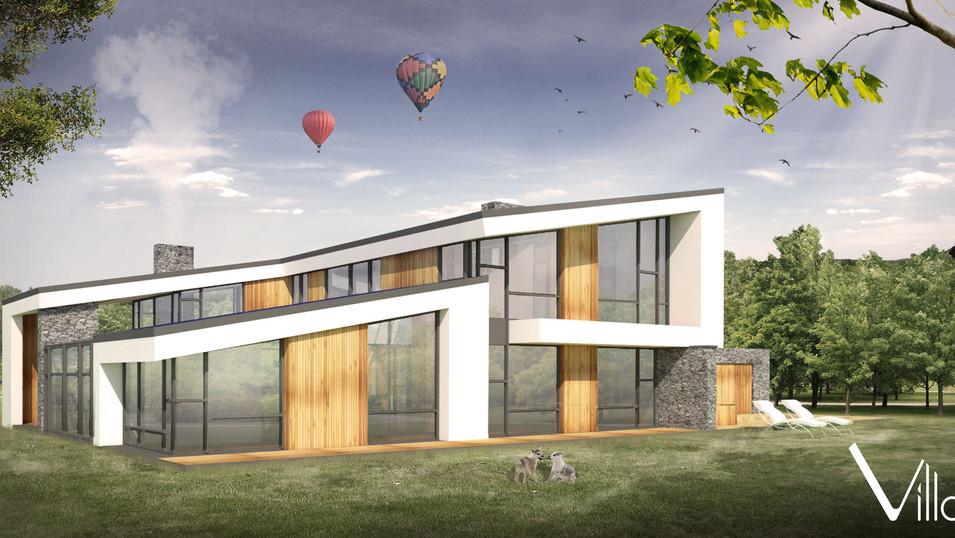 Saulė - unikalus gyvenamojo namo projektas - Villaxy
