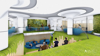 ADVOKATŲ KONTOROS INTERJERAS naujai statomame verslo centre Vilniuje