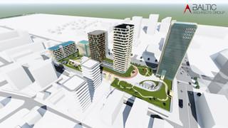 BLUE CITY - kvartalas Vilniuje Šnipiškėse
