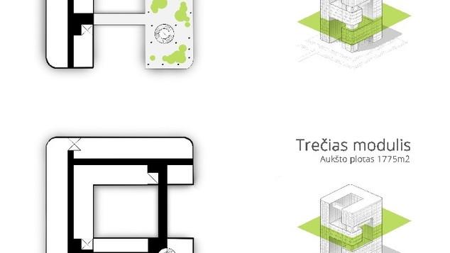 GREEN OPTIMUS - biurų pastatas Kaune
