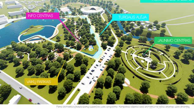 KELMĖS ŽIEDŲ PARKAS | Laisvalaikio ir poilsio parkas